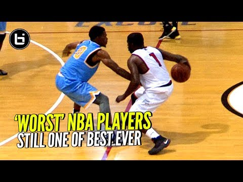 Even The 'Worst' NBA Players Are 100x Better Than You Think & Will Give You BUCKETS!