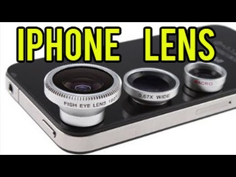 iPhone Lens - Fish Eye Lens, Wide Angle Lens, and Macro Lens