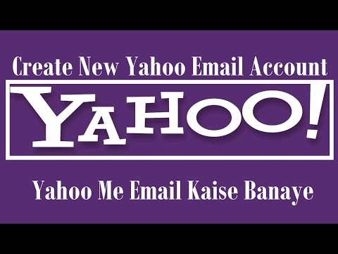 Create New Yahoo Email Account Free - New Acct Kaise Banaye - Hindi Audio