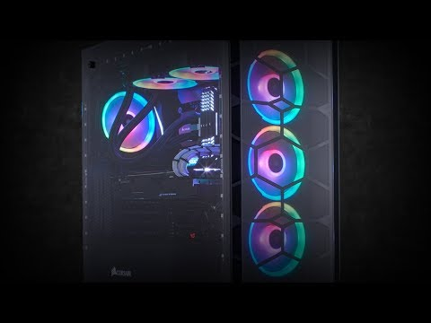 CORSAIR LL RGB LED SERIES FANS - GLOW WITH THE FLOW