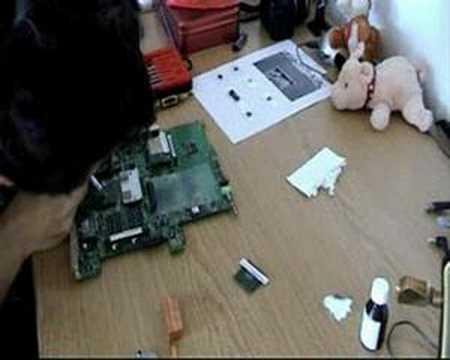 Acer Aspire 3610 CPU Change