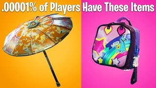 TOP 10 RAREST SKINS IN FORTNITE! (cosmetic items u don