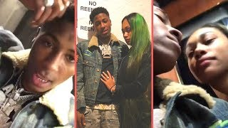 NBA YoungBoy Takes His Girlfriend Jania Bania On A Trip To Mexico YoungBoy Brings Louisiana To Mex.