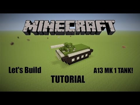 Let's Build a Tank! - Minecraft Tutorial
