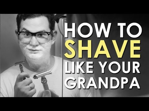 How to Shave with a Safety Razor | AoM Instructional