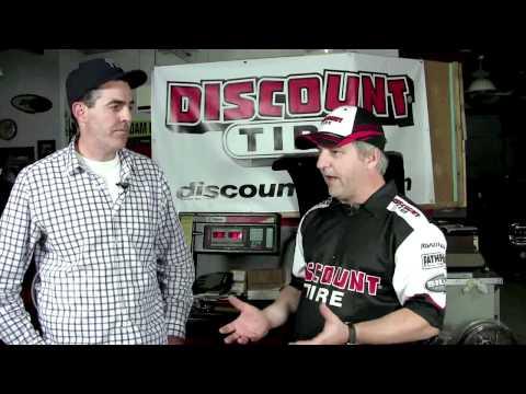 Adam Carolla and Sandy Ganz on Nitrogen in Tires