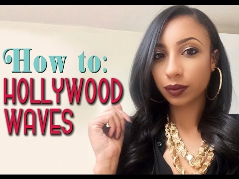 Hollywood waves | Vintage hairstyle