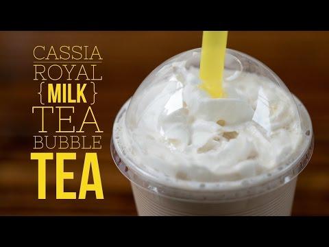 How to Make Royal Cassia Milk Tea Bubble Tea Recipe - 1 Gallon
