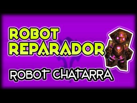 WOW FIRESTORM || Conseguir ROBOT REPARADOR ▲ Guía Robot Chatarra