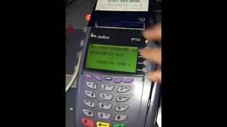 Removing Tamper Message on VeriFone VX520 credit card