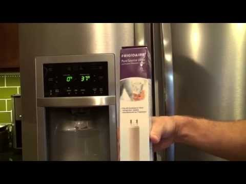 Change a Frigidaire Refrigerator Water Filter