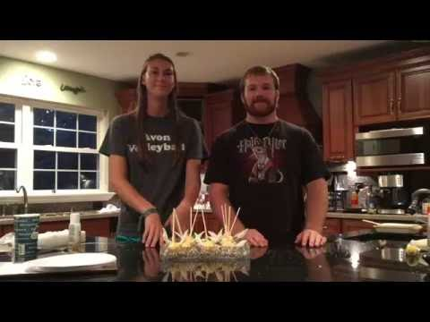 Golden Snitch Cake Pops