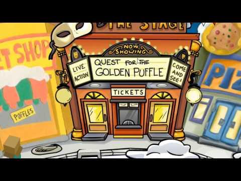 Quest for the golden puffle - Club Penguin Rewritten