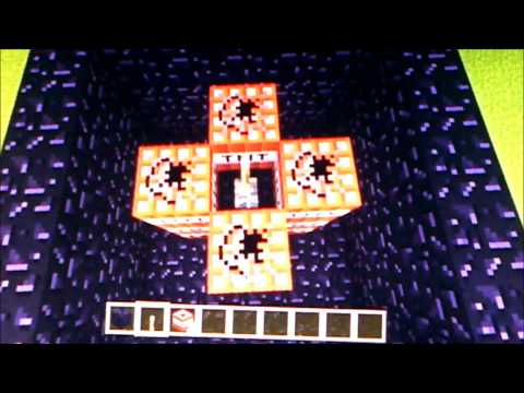 How to make a TNT cannon- Minecraft PS3