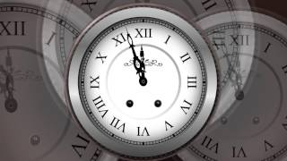 COUNTDOWN TIMER 5 min ( v 240 ) Clock with sound effects 4k