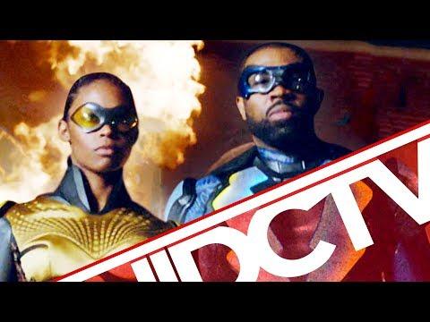 #DCTV: BLACK LIGHTNING Origin Revealed + KRYPTON Threat Rises