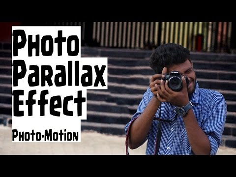 Photo Motion | Parallax Effect in Photoshop |  Animate Photos to 3D, 2.5D | Tutorial on Tuesday