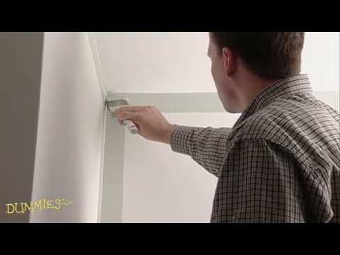 How to Paint Walls and Ceilings For Dummies