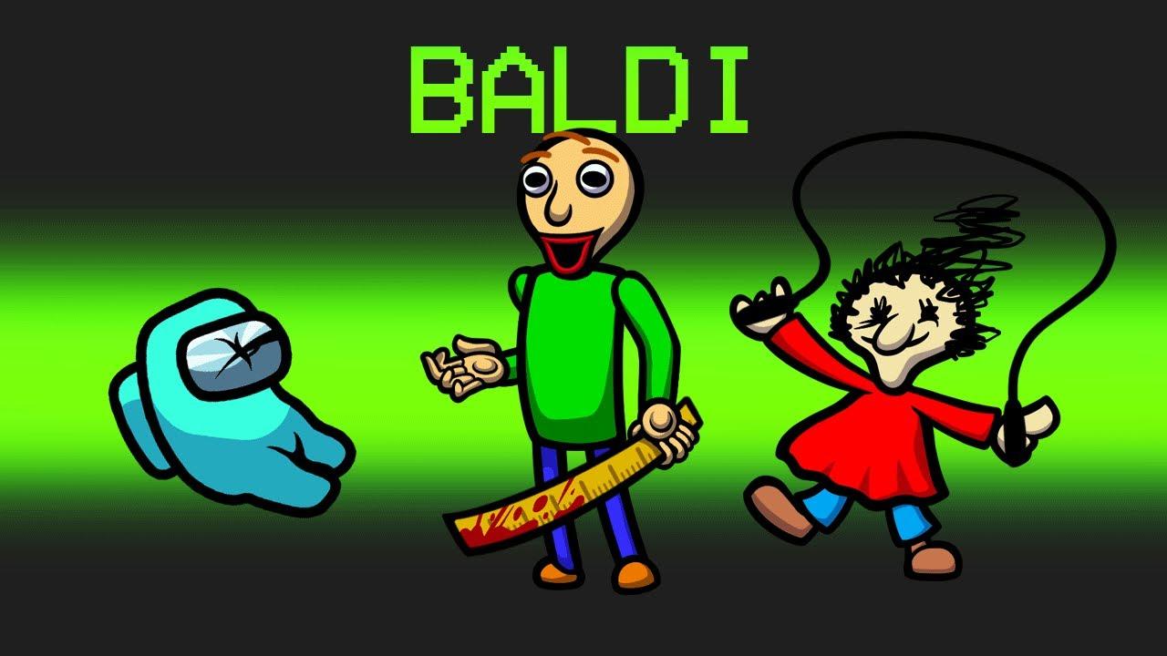 *NEW* BALDI Mod in Among Us
