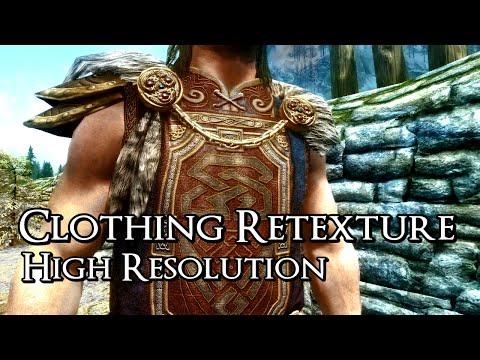 Rustic Clothing - RETEXTURE - Skyrim Mod Spotlight - Best of the Nexus