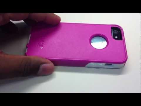 OtterBox iPhone 5 Commuter Series Avon Pink