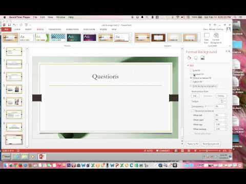 How to Hide Background Graphics on a Slide in PowerPoint