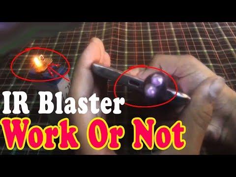 ir blaster Work or Not (ir sensor) with proof 100% working