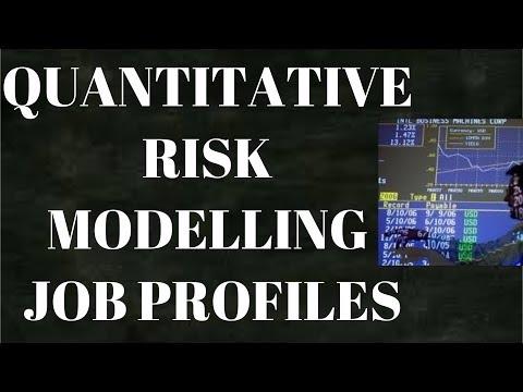 Quantitative Risk Modelling Job Profiles | Model Validation| Stress Testing