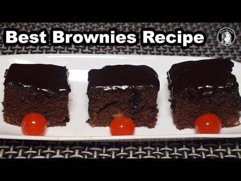 Best Brownies Recipe Without Oven - Easy Brownies Recipe by Kitchen With Amna