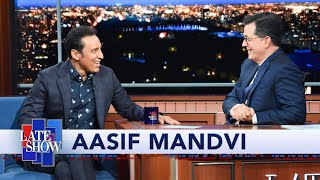 Aasif Mandvi Took Stephen Colbert's Comedy Advice At The Daily Show