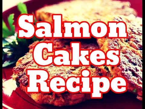 How To Make Salmon Cakes From Can - Fresh Salmon Fish Patties Recipe With Canned Salmon