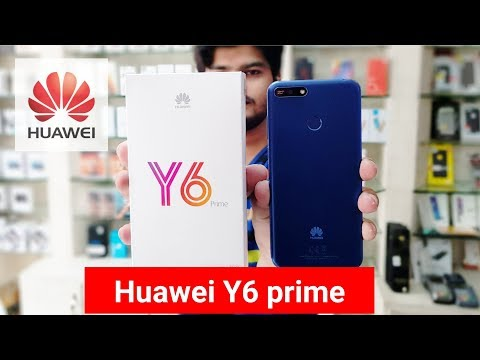 Huawei Y6 prime 2018 | first unboxing in Pakistan