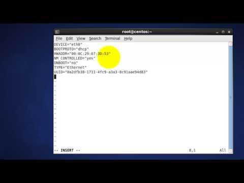 Setup CentOS IPv6