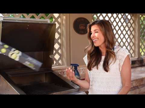 Cleaning Your Grill with Aluminum Foil