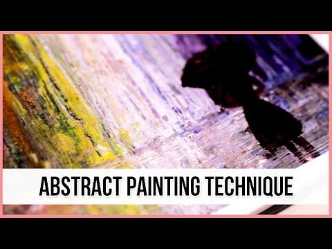 Acrylic Abstract Painting Technique for Beginners   Art Journal Thursday Ep. 25