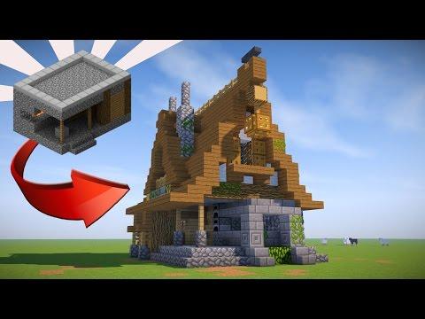 Minecraft: How To Transform A Village Blacksmith