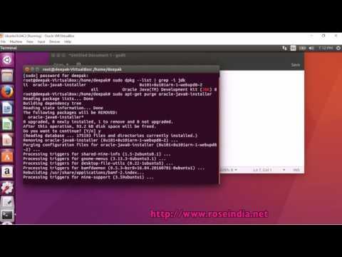 How to Uninstall Oracle Java JDK 8 in Ubuntu 16.04?