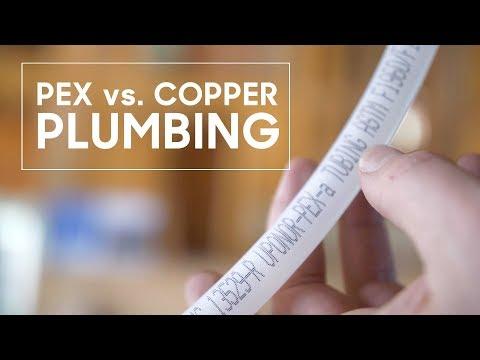 PEX vs. Copper Plumbing