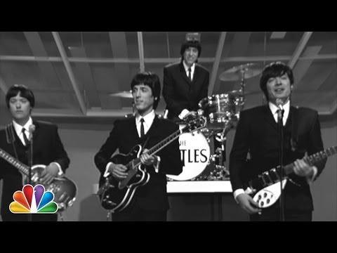 Jimmy Fallon mostra como seria se os Beatles tivessem usados as mídias sociais