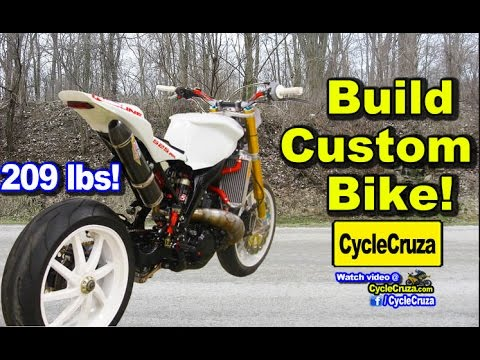 I Want to Build Custom Lightweight FAST Motorcycle! | MotoVlog