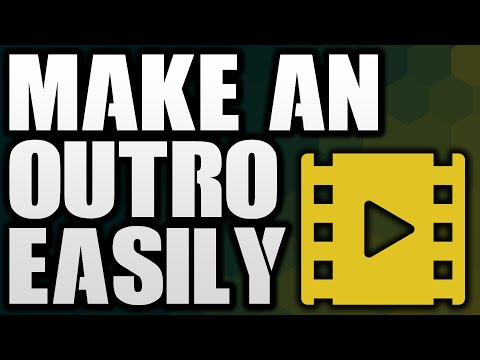 How To Make An Outro EASILY For YouTube Videos 2016! (Add Annotations & Cards)