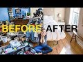 EXTREME KONMARI METHOD DECLUTTERING Before After