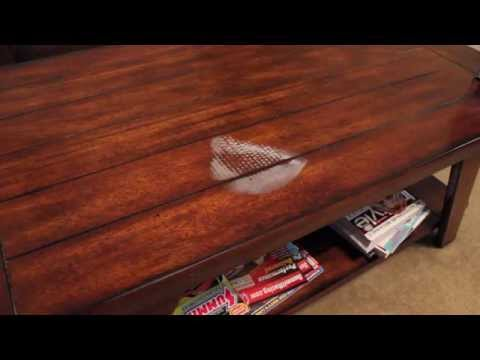 Getting Heat Stains off of Wood Furniture