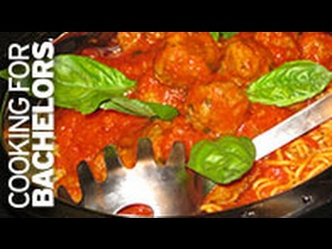 Meatballs in Tomato Sauce by Cooking for Bachelors® TV