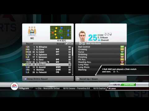 FIFA 12 - Manager Mode - Best Players to Buy