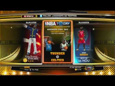 NBA 2k13 Unlimited VC Glitch