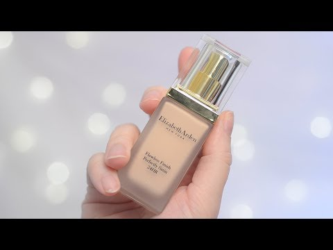 Elizabeth Arden Flawless Finish Perfect Satin Foundation 12hr Wear Test & Review | CORRIE SIDE