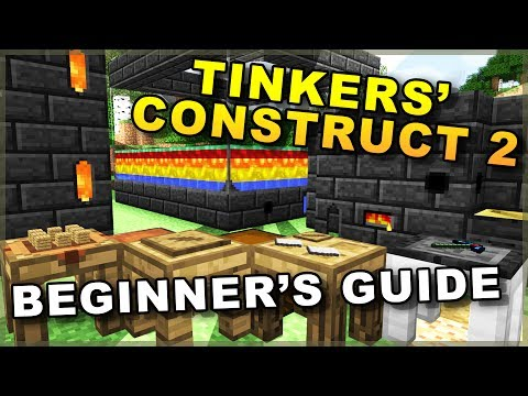 Beginner's Guide to Tinkers Construct 2!! • Building Smeltery Tutorial • Minecraft Mod Showcase