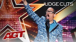 Download WOW! Voice Impressions From Famous Movies By The Incredible Greg Morton - America's Got Talent 2019 Video