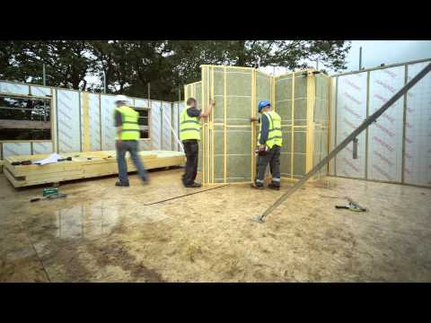 TIMBER FRAME HOME IN ONE DAY